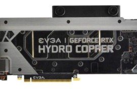 EVGA推出GeForce RTX 2080 Ti XC Hydro Copper游戏显卡