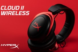 HyperX推出Wireless Cloud II游戏耳机