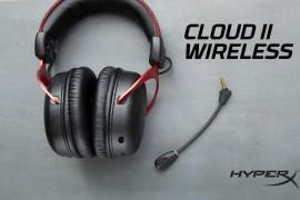 HyperX发售Cloud II无线游戏耳机