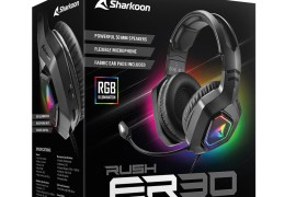 Sharkoon宣布推出RUSH ER30 USB游戏耳机