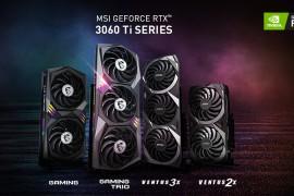 微星宣布推出GeForce RTX 3060 Ti系列图形卡
