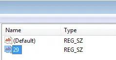 Windows10新字符串值29